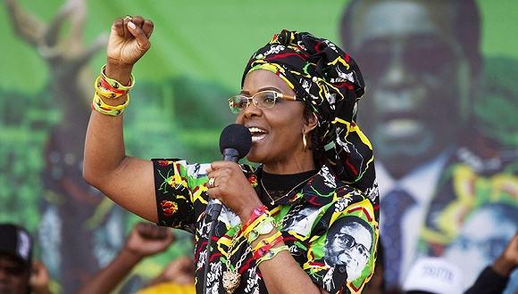 """津巴布韦执政党:第一夫人领导""""阴谋集团"""""""