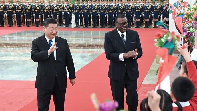 习主席频繁会见非洲国家领导人,传递什么信号