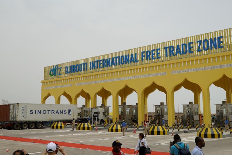 """非洲五国首脑齐聚吉布提自贸区 点赞该项目是""""东非的胜利"""""""