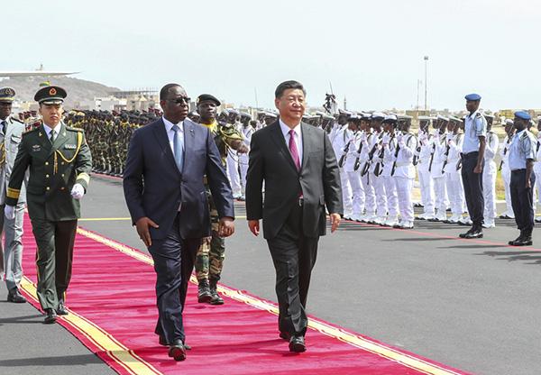 """习近平:欢迎塞内加尔成首个签署""""一带一路""""合作的西非国家"""