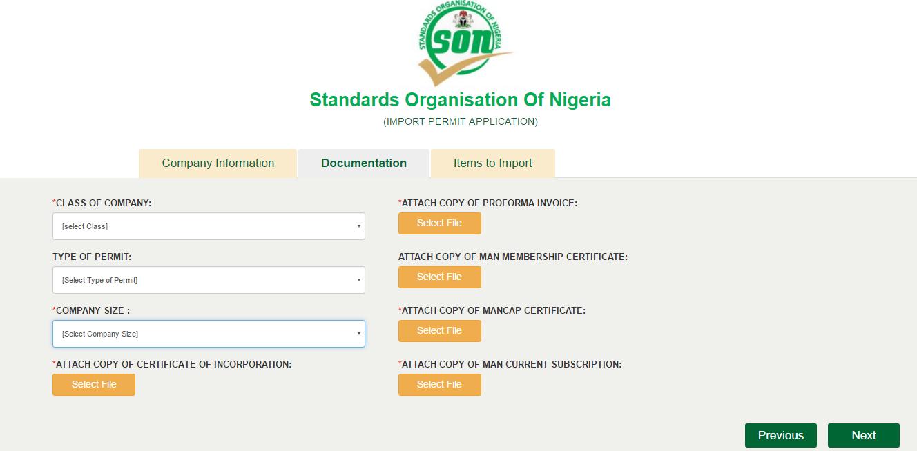 尼日利亚标准局合格评定计划(SONCAP)和进口许可(Import Permit)简介